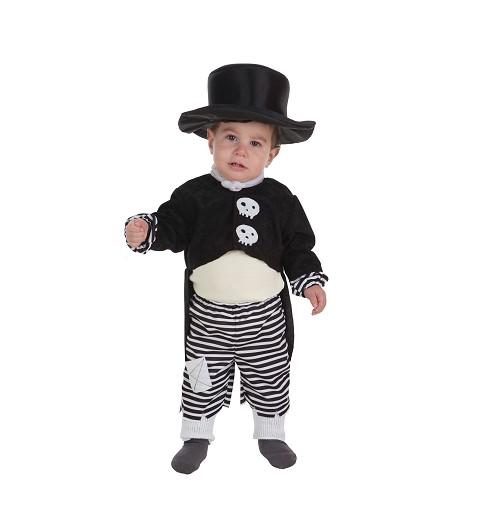 Disfraz Skelet Boy Bebe (0...
