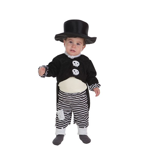 Disfraz Skelet Boy Bebe (0 a 12 meses)