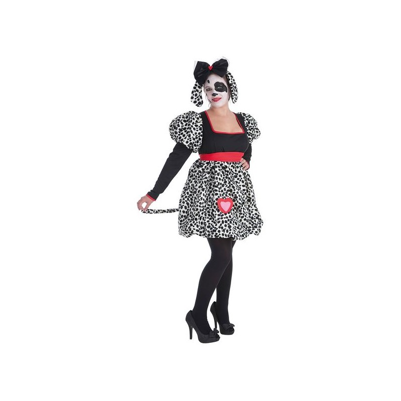 disfraz mujer dalmata