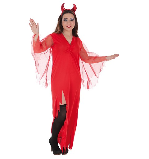 Disfraz Demonia Roja Adulto