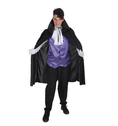 Disfraz Vampiro Malva para Adulto