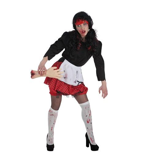 Disfraz Nena Zombie Adulto