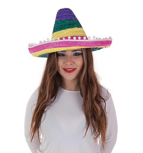 Sombrero Mexicano Colores