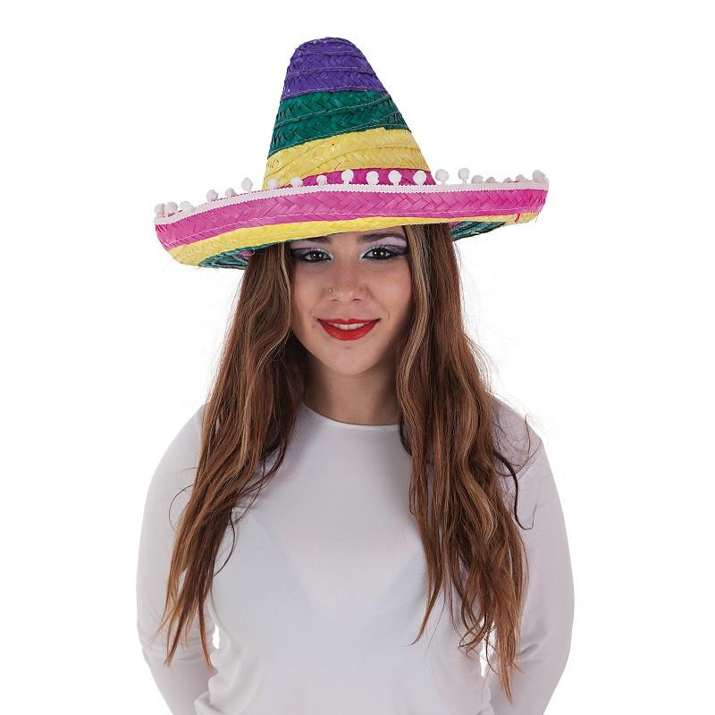 Sombrero Mexicano Colores - MiDisfraz ba44973ccda