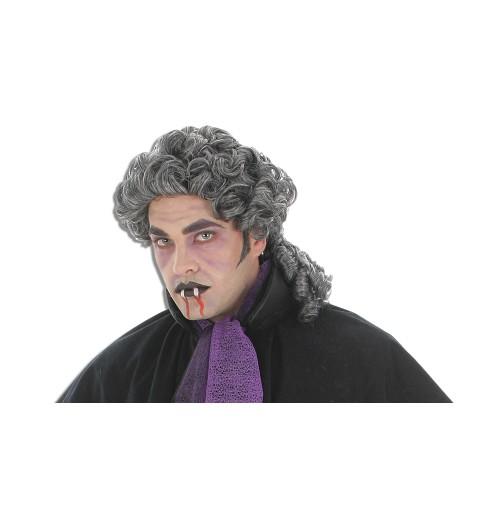 Peluca Vampiro Gris