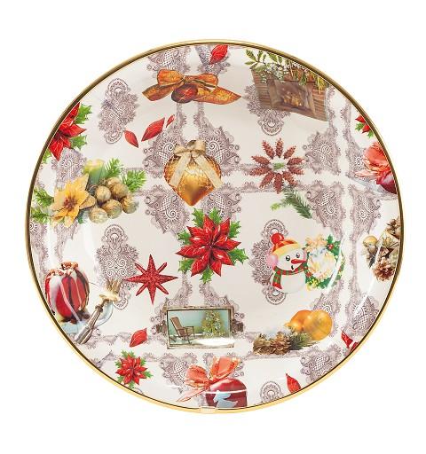 Cuenco Navidad Grande  30 cm