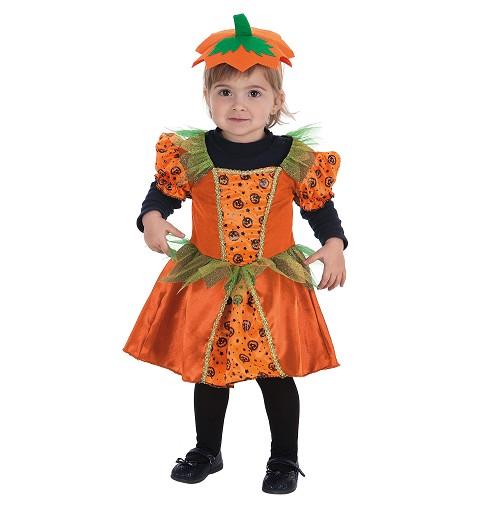 Disfraz Calabacita Bebe Niña