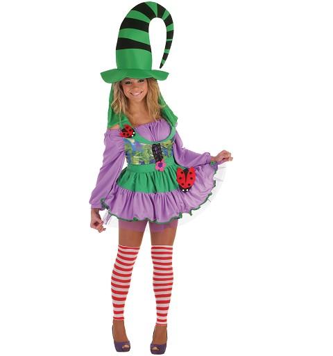 Disfraz Duendecilla Verde Adulto