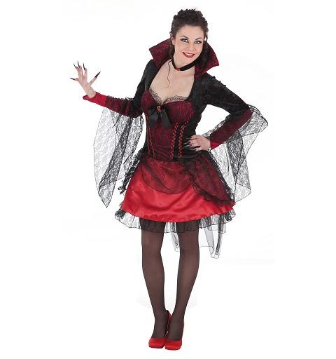Disfraz Madame Red Lux Adulto