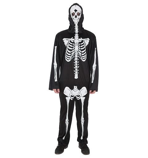 Disfraz Mono Skeleto Adulto