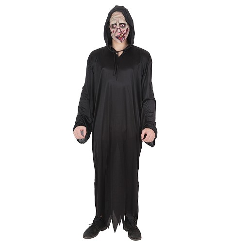 Disfraz Túnica Picos Con Mascara Adulto