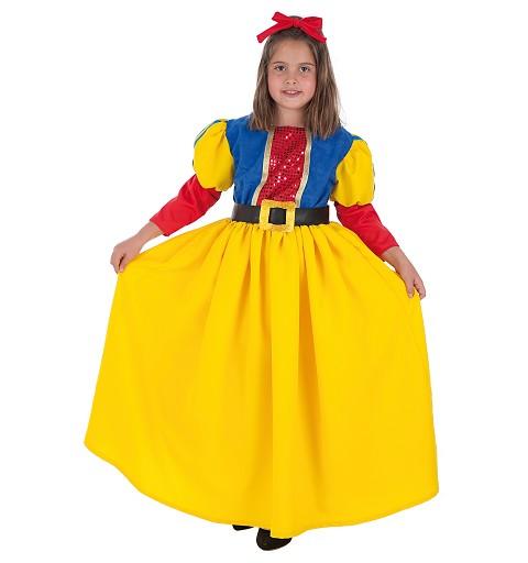 Disfraz de Blanquita para Niña