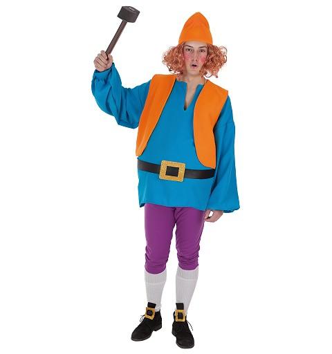 Disfraz Enanito Azul Adulto T-L