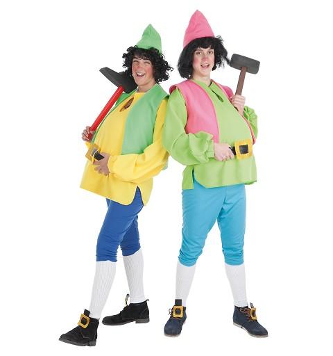 Disfraz Enanito Verde Adulto T-Xl