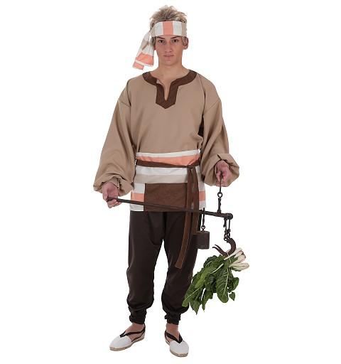 Disfraz Mercader Adulto