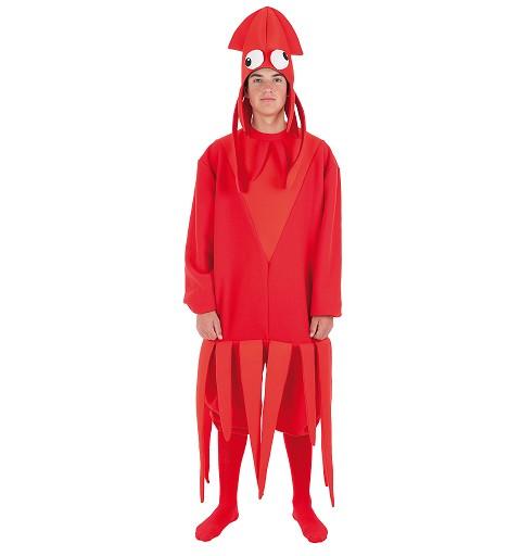 Disfraz Calamar Adulto