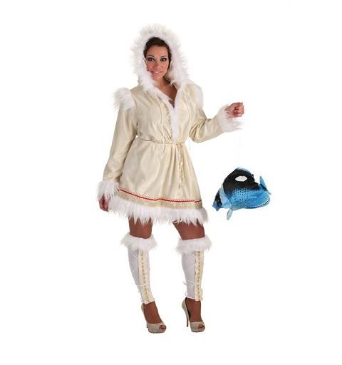 Disfraz Esquimal Mujer Adulto