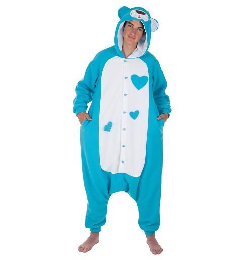 Disfraz Funny Blue Teddy Adulto T-L