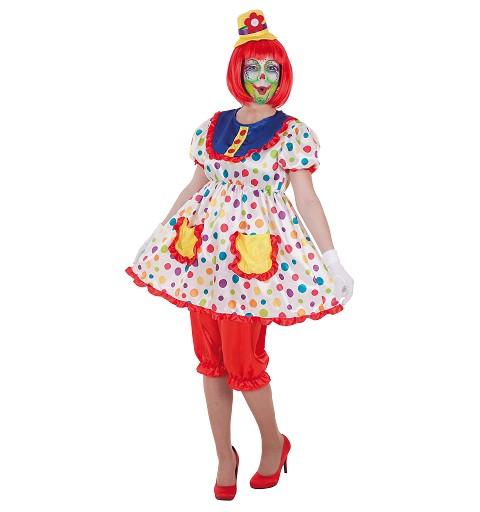 Disfraz Payasa Tina para Mujer