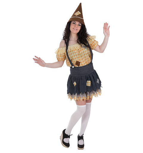 Disfraz Espantapájaros Mujer Adulto