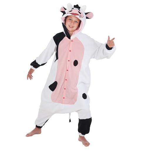Disfraz Pijama Vaca Cow Infantil