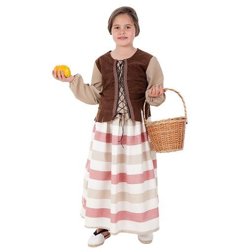 Disfraz de Mercadera para Niña