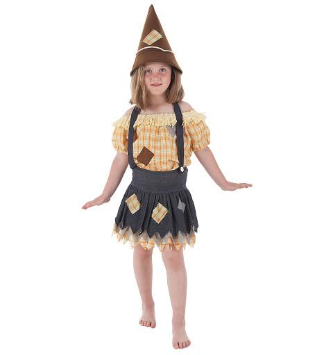 Disfraz Espantapájaros Niña Infantil