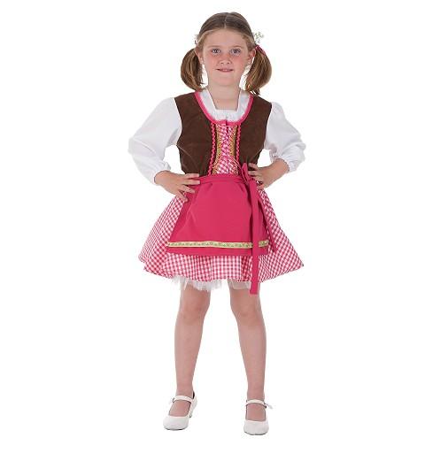 Disfraz Tirolesa Niña