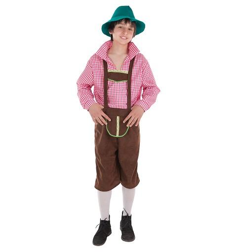 Disfraz Tirolés Niño