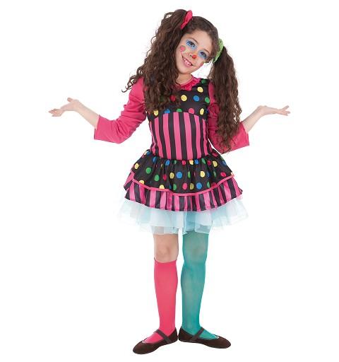 Disfraz Payasa Rayas Infantil