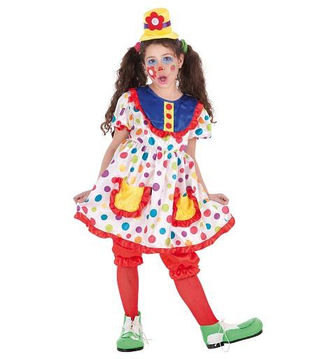 Disfraz Payasa Tina Infantil