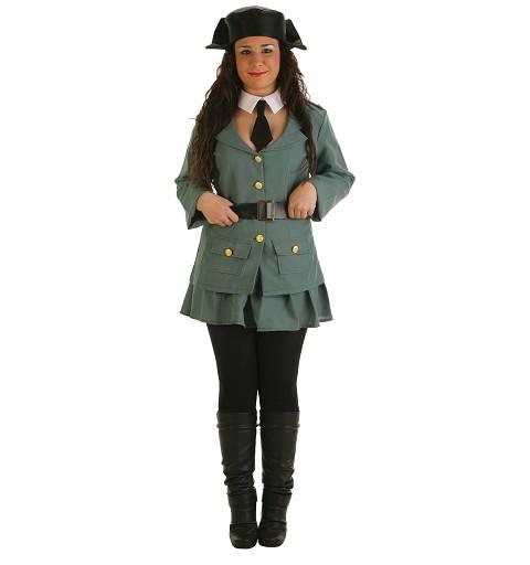 Disfraz Guardia Mujer Adulto