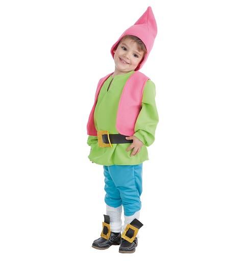 Disfraz Enanito Verde Bebe...