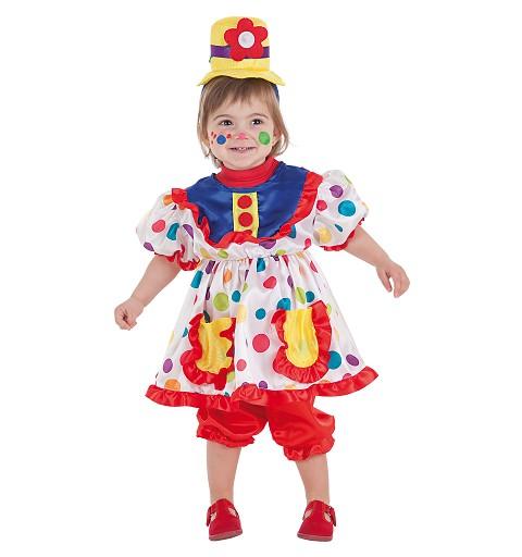 Disfraz Payasa Tina Bebe (0 a 12 meses)