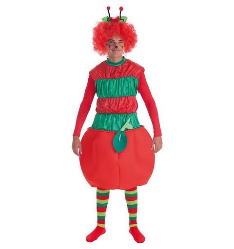 Disfraz Gusano Manzana Adulto
