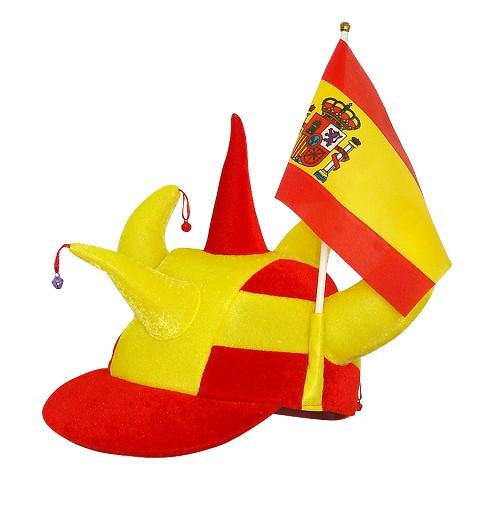 Gorra Cuernos Spain Banderin