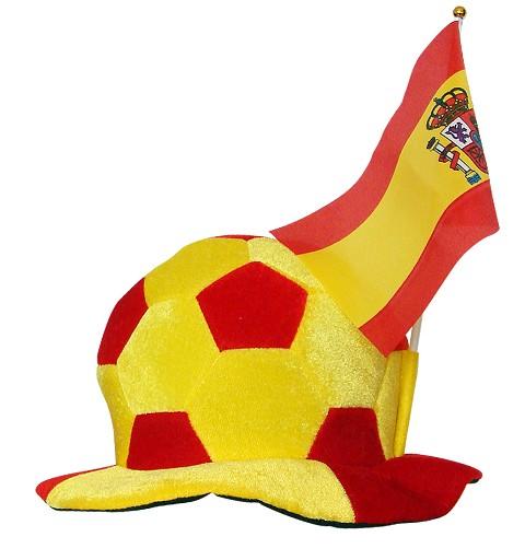 Sombrero Balón y Bandera...