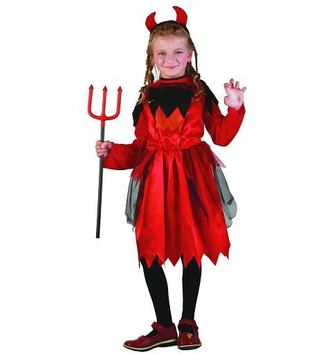 Disfraz Diablesa Roja Infantil