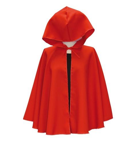 Capa Roja Medieval Adulto