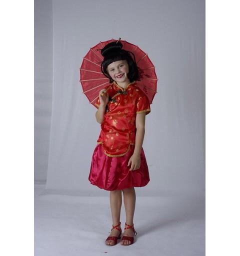 Disfraz China Infantil Falda