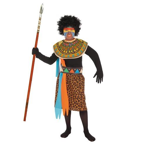 Disfraz de Africano Infantil