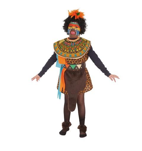 Disfraz Africana Infantil