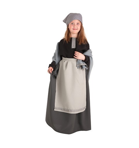 Disfraz Castañera Infantil Lux