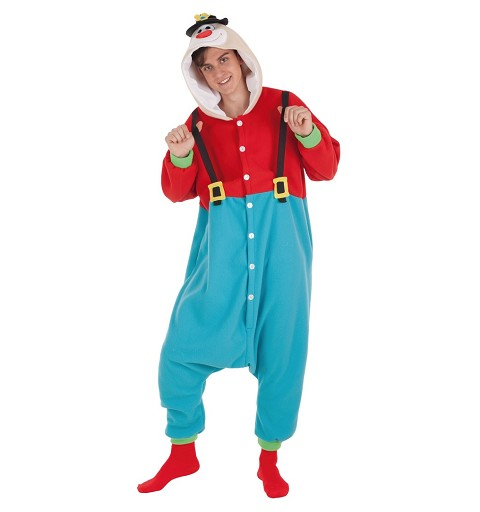 Disfraz Payaso Clown Adulto T-L