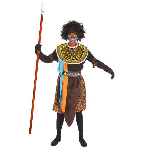Disfraz de Africano para...