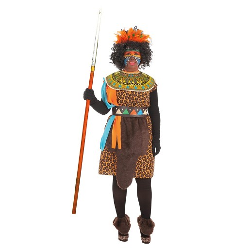 Disfraz de  Africana Adulto