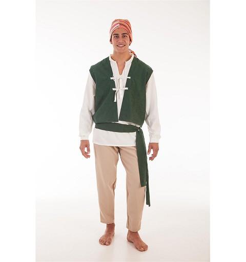 Disfraz Campesino Carlos Adulto