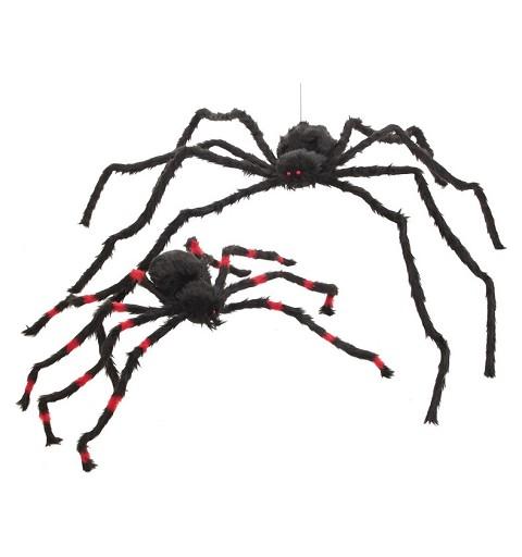 Araña Rayas Roja Med.