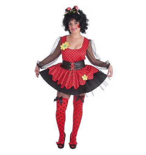 Disfraz Mariquita Mujer