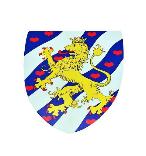 Escudo Medieval 30 x 25 cm